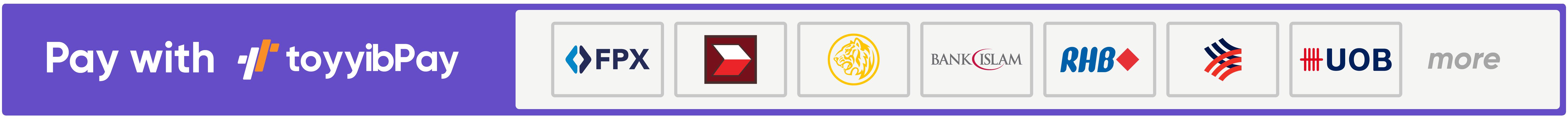 Bayar Guna FPX Online Banking atau Kad Debit/Credit